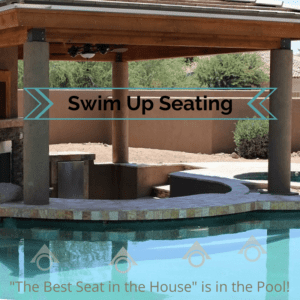 The Perfect Swim-up Seating