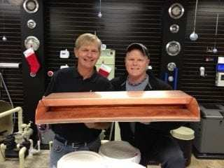 Bobe Owner Bob with Marshall, Owner of BYOP