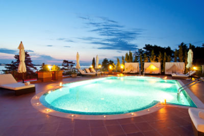 Lighting options for your swimming pool.