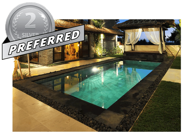 Swimming pool preferred package with BYOP.